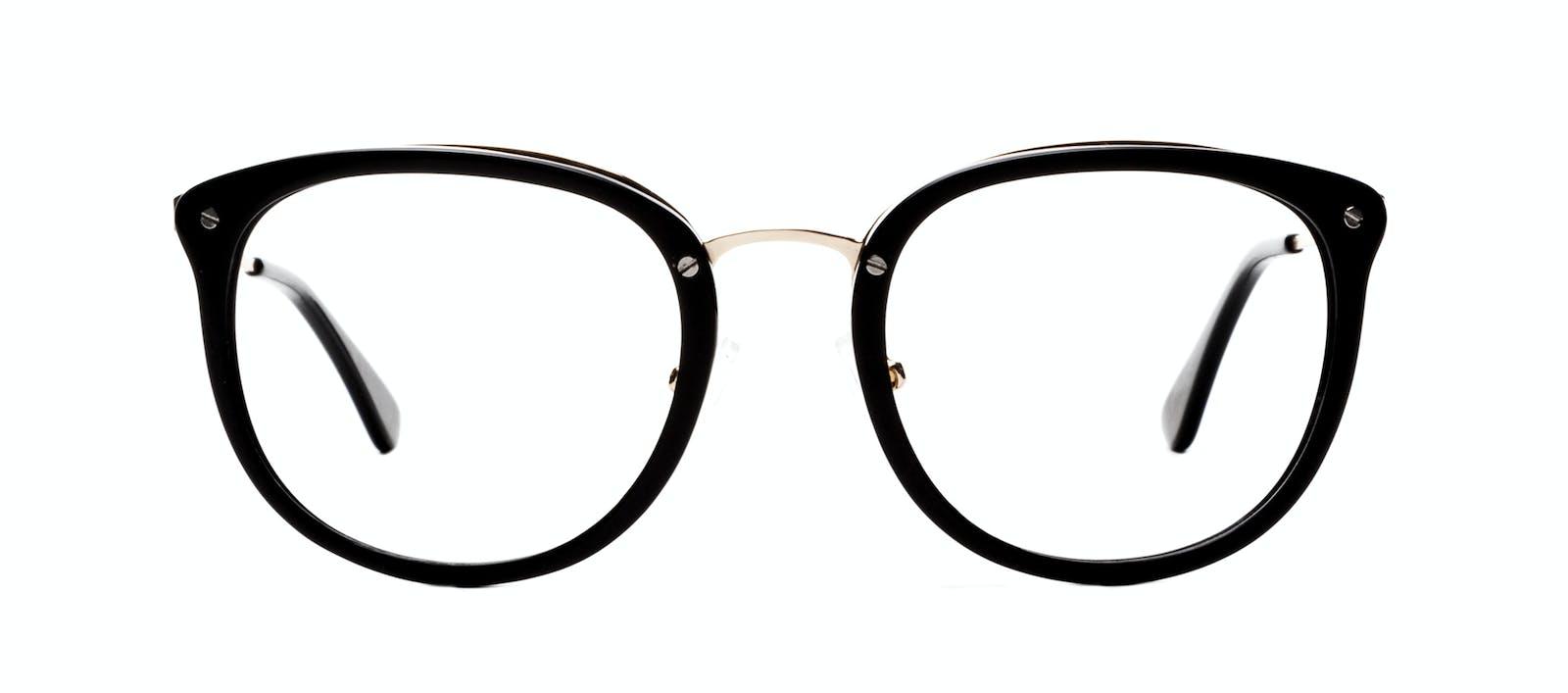 db2cc633ce Affordable Fashion Glasses Square Round Eyeglasses Women Amaze Onyx Front