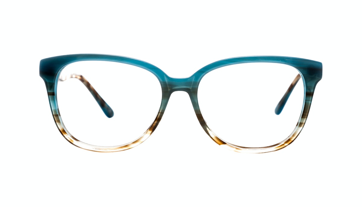 Womens Eyeglasses - Fancy-Pants in Teal BonLook