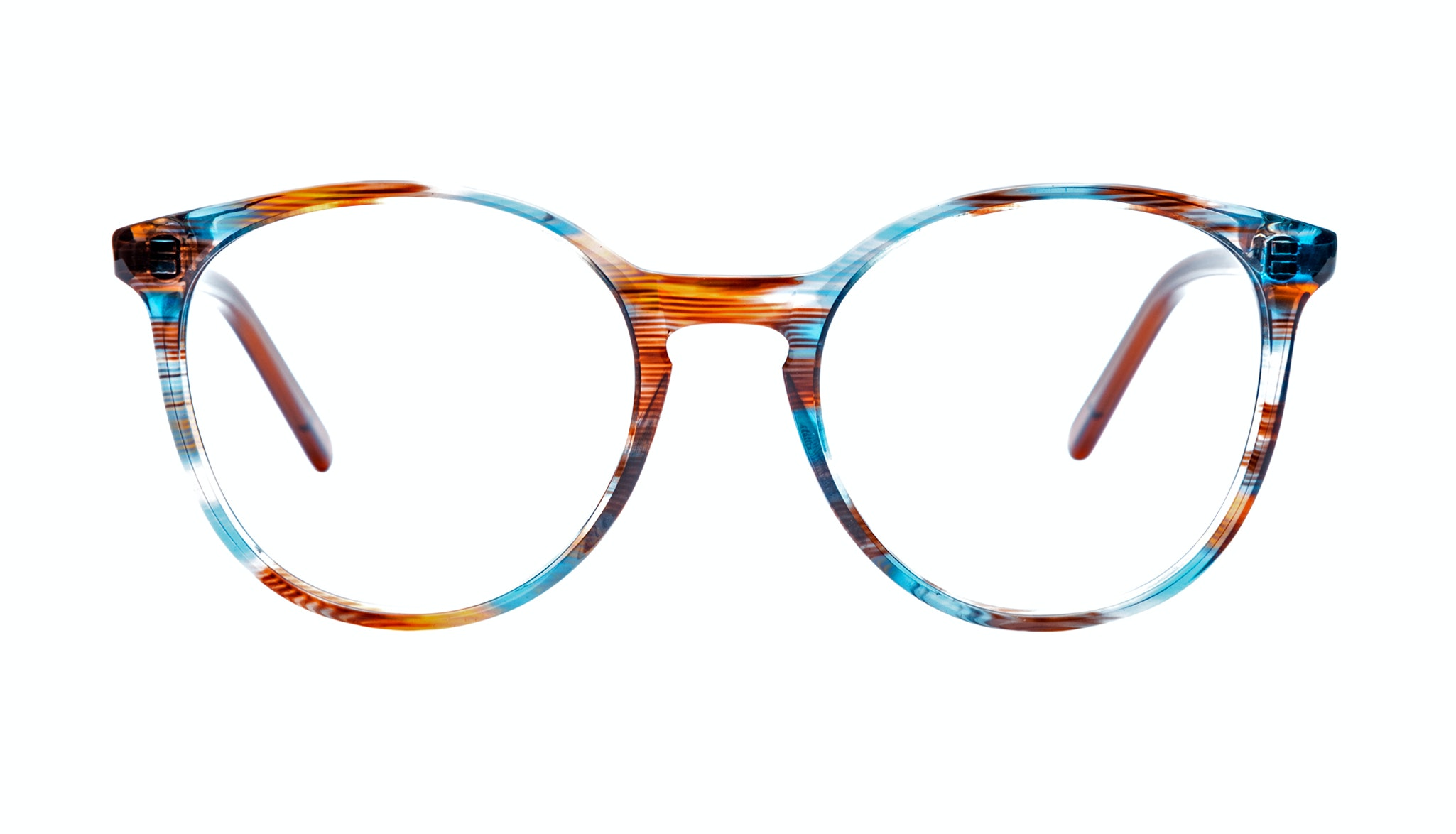Affordable Fashion Glasses Round Eyeglasses Women Embrace Rusty Teal