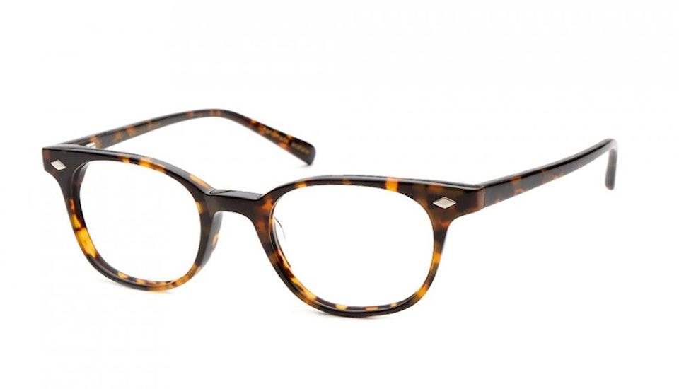 Affordable Fashion Glasses Round Eyeglasses Women Flanagan Chocolate Tortoise Tilt