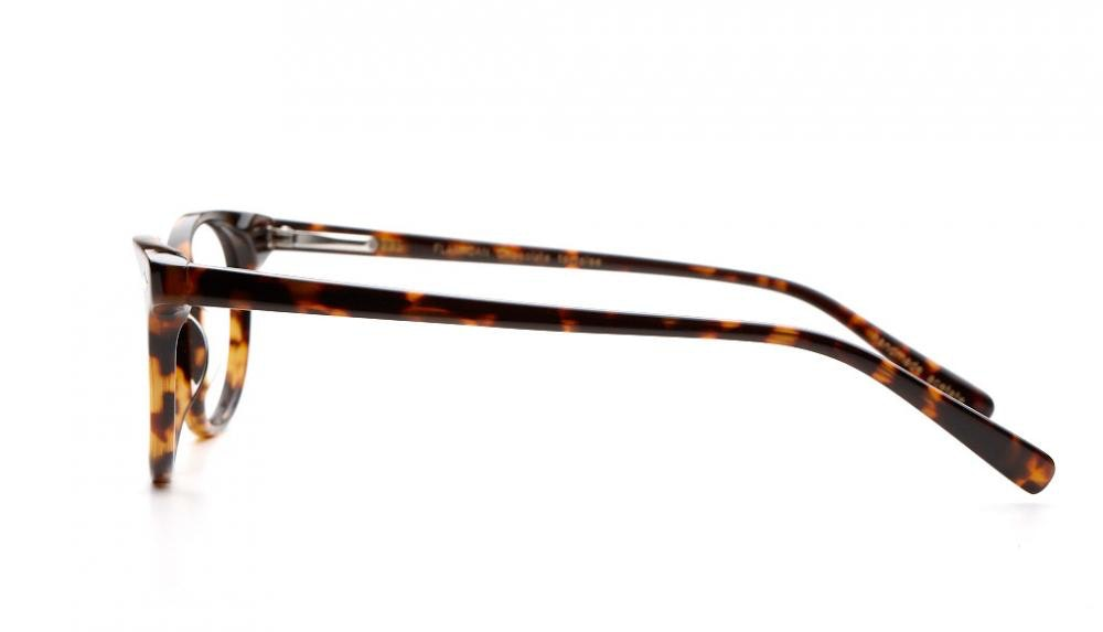 Affordable Fashion Glasses Round Eyeglasses Women Flanagan Chocolate Tortoise Profil