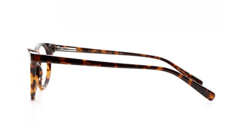Affordable Fashion Glasses Round Eyeglasses Women Flanagan Chocolate Tortoise Side