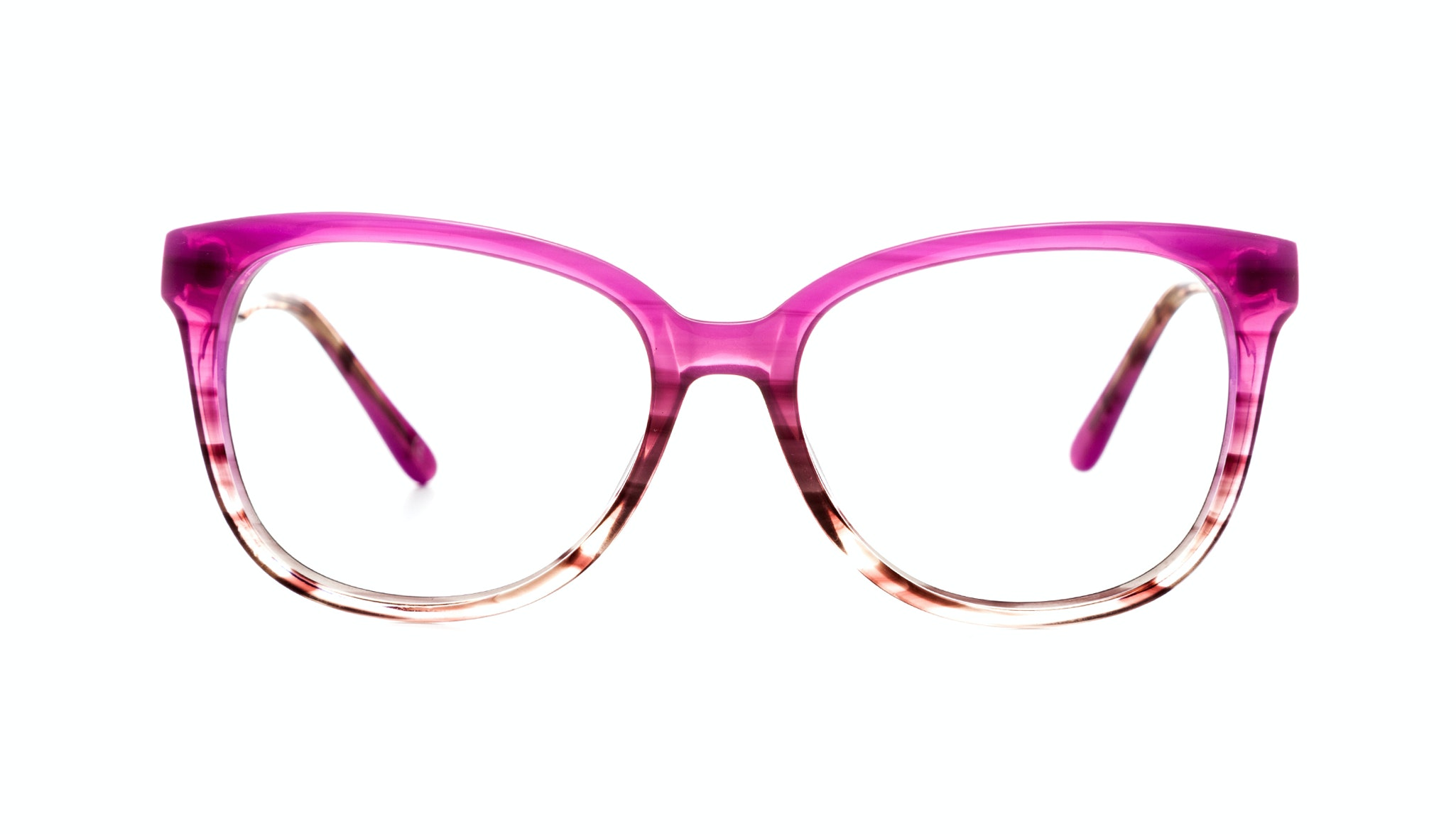 Affordable Fashion Glasses Round Eyeglasses Women Fancy-Pants Cosmo Pink Front