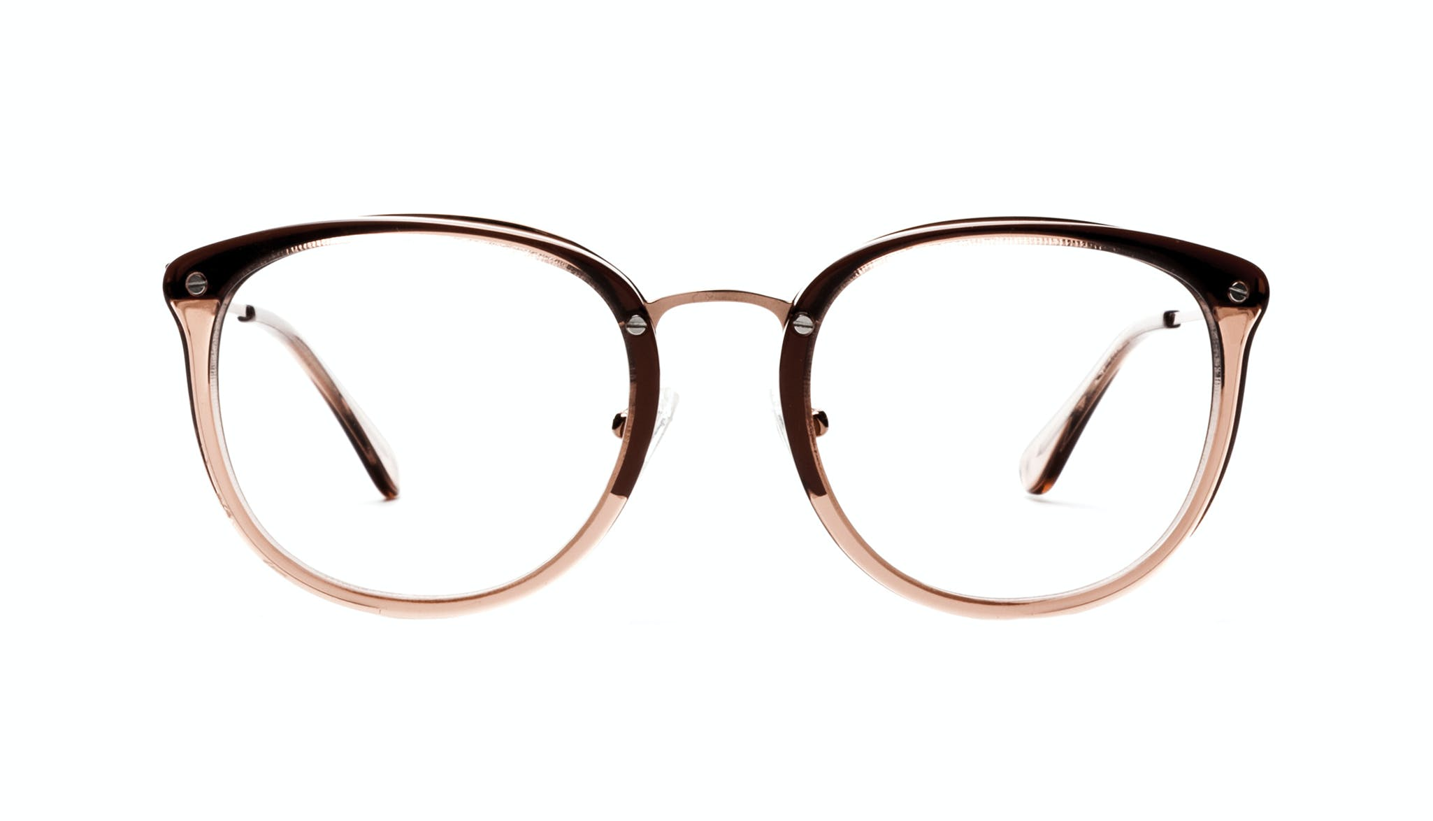 Affordable Fashion Glasses Square Round Eyeglasses Women Amaze Rose Front