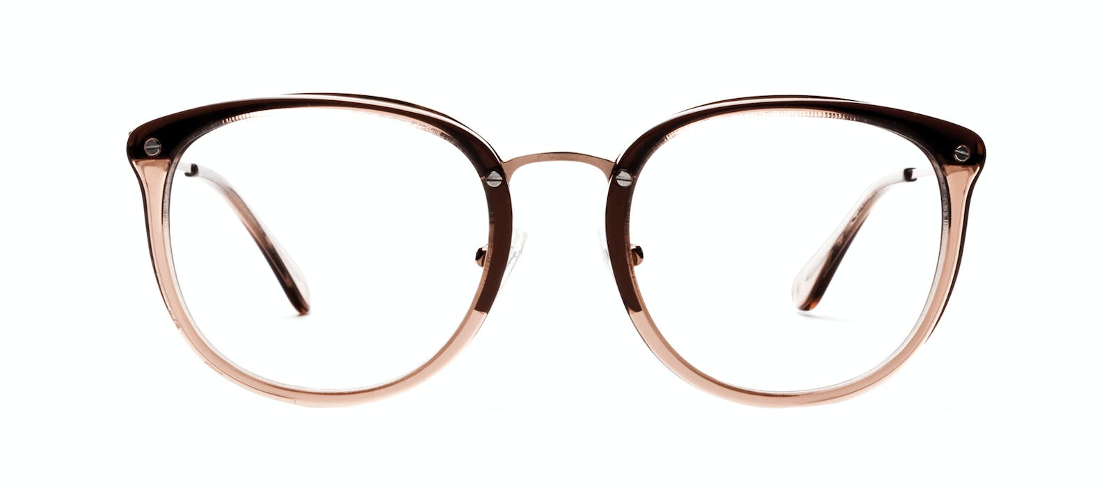 5d98d546d4 Affordable Fashion Glasses Square Round Eyeglasses Women Amaze Rose Front