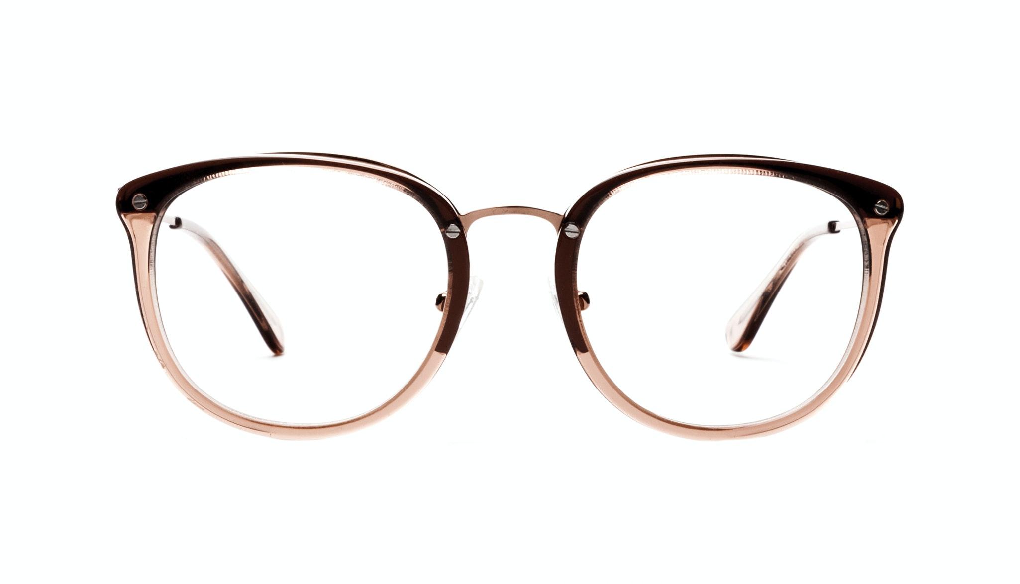 Affordable Fashion Glasses Square Round Eyeglasses Women Amaze Rose Front