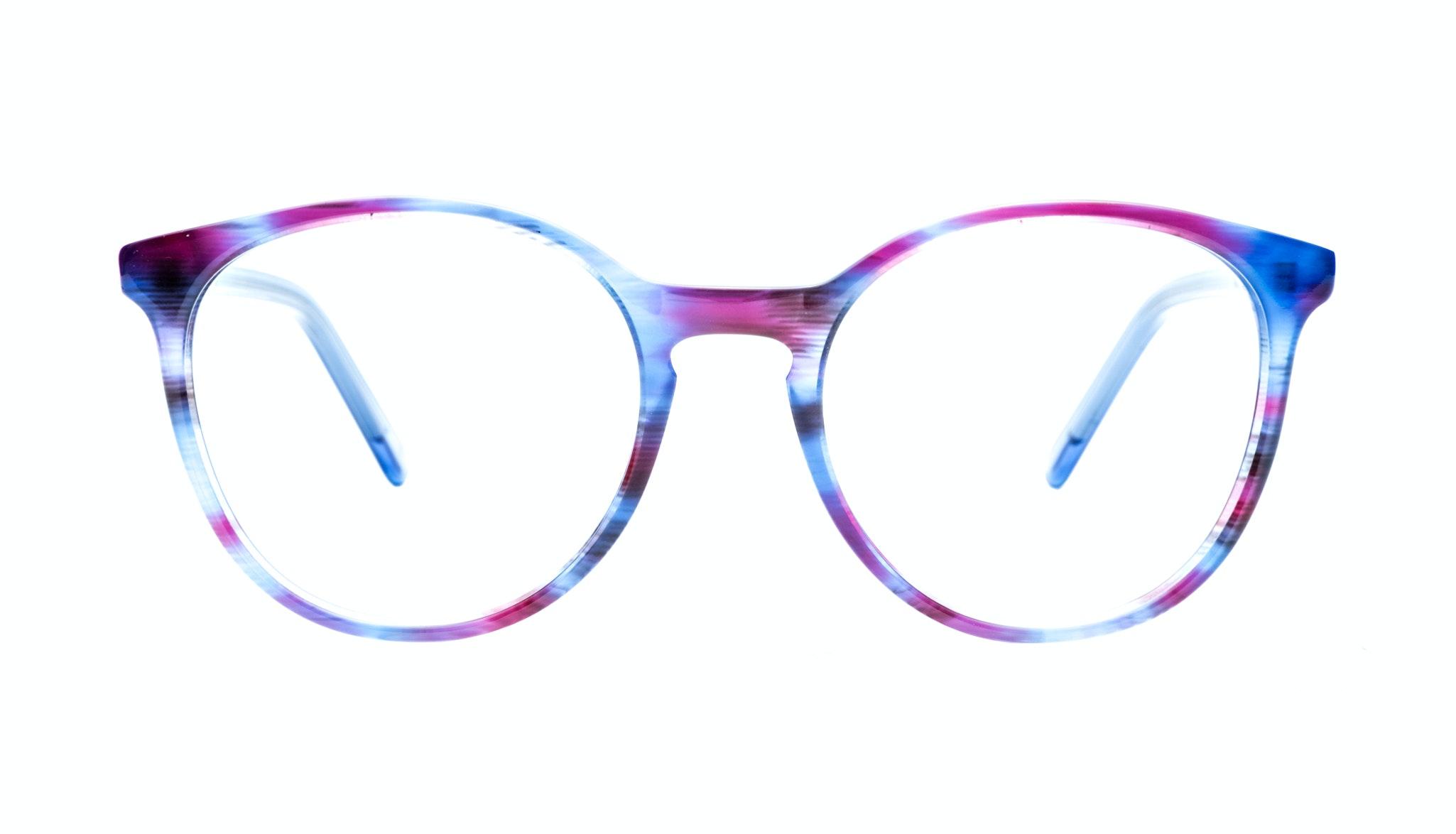 Affordable Fashion Glasses Round Eyeglasses Women Embrace  Blue Velvet
