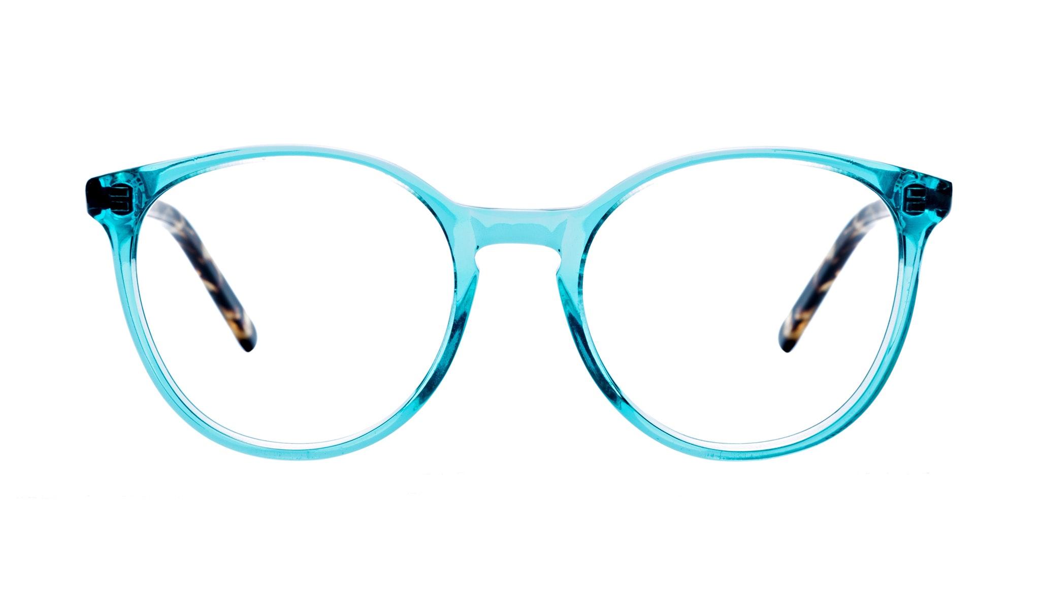 Affordable Fashion Glasses Round Eyeglasses Women Embrace Teal Tort