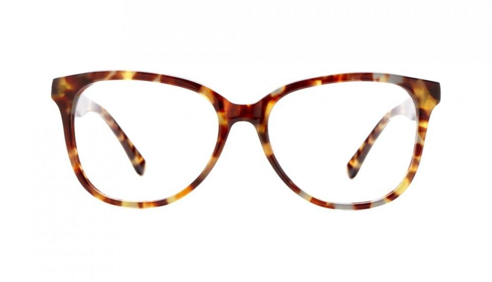 Affordable Fashion Glasses Round Eyeglasses Women Fancy-Pants Dressy Tortoise Front