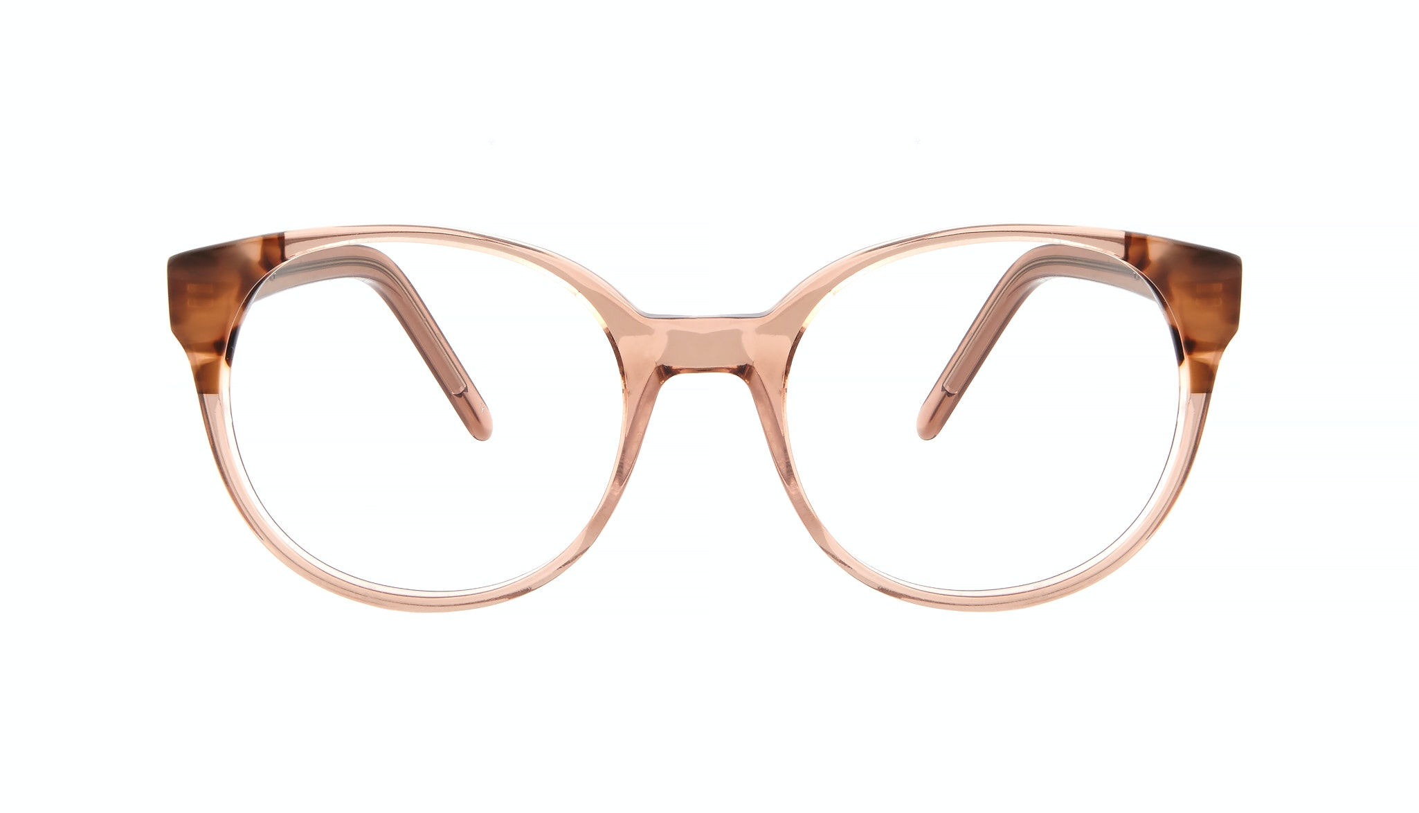 Affordable Fashion Glasses Round Eyeglasses Women Bis Pink Tortoise