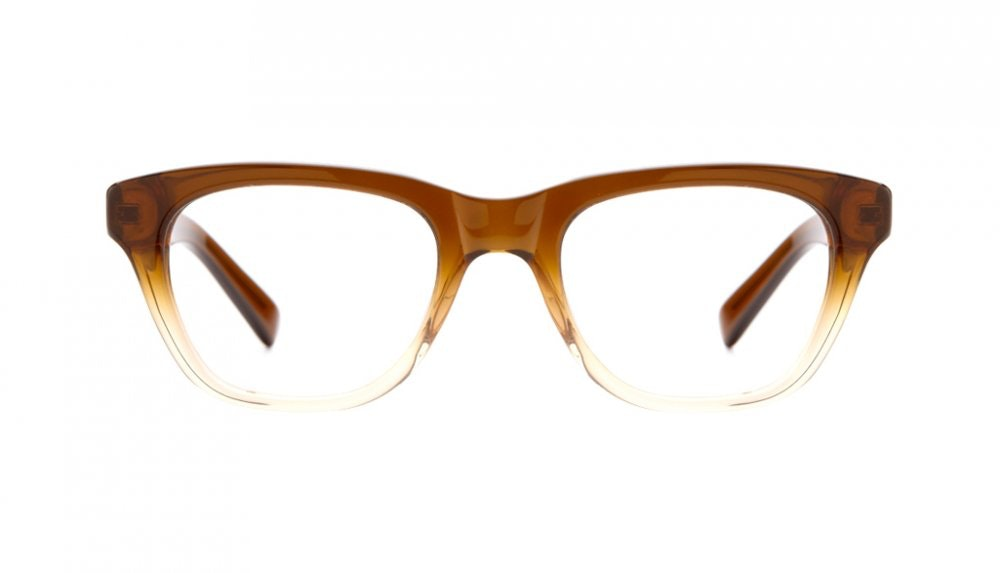 Affordable Fashion Glasses Square Eyeglasses Women Daydreamer Cinnamon Brown Front