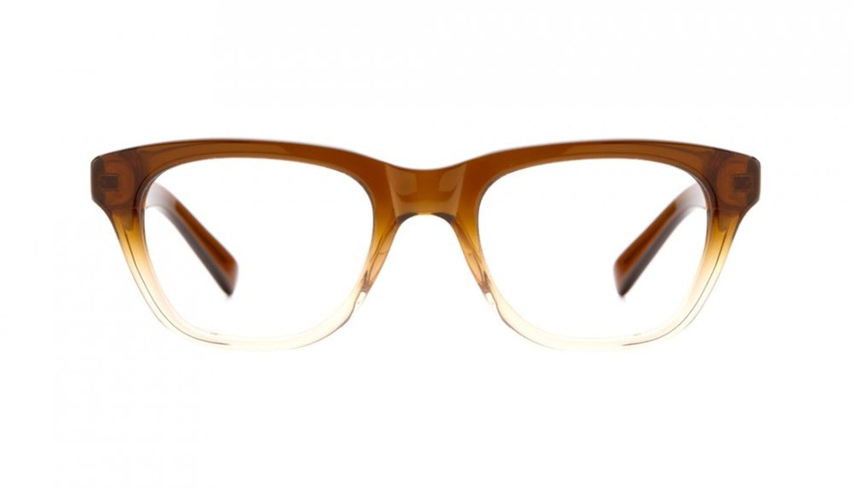 Affordable Fashion Glasses Square Eyeglasses Women Daydreamer Cinnamon Brown Front