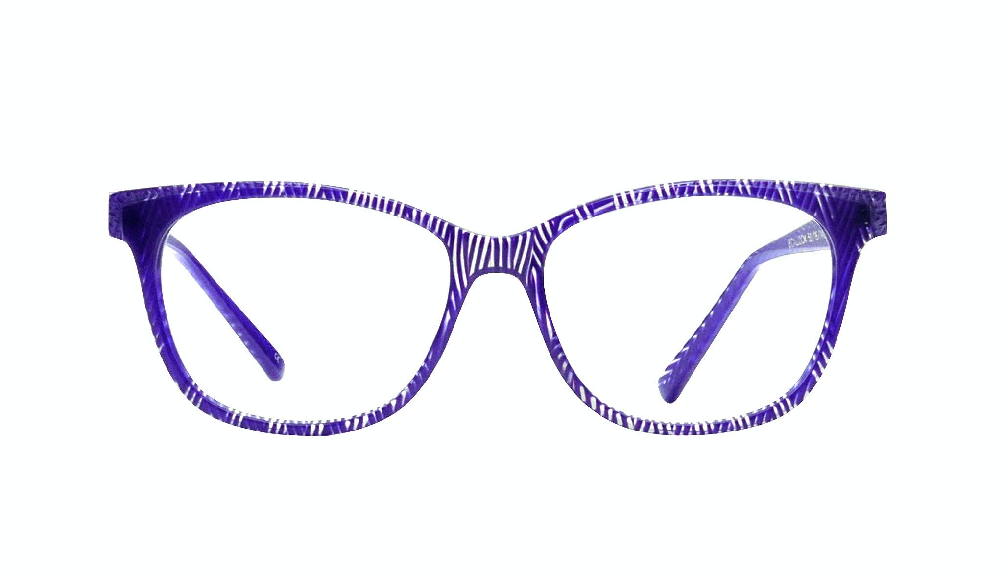 Affordable Fashion Glasses Square Eyeglasses Women Harlow violet