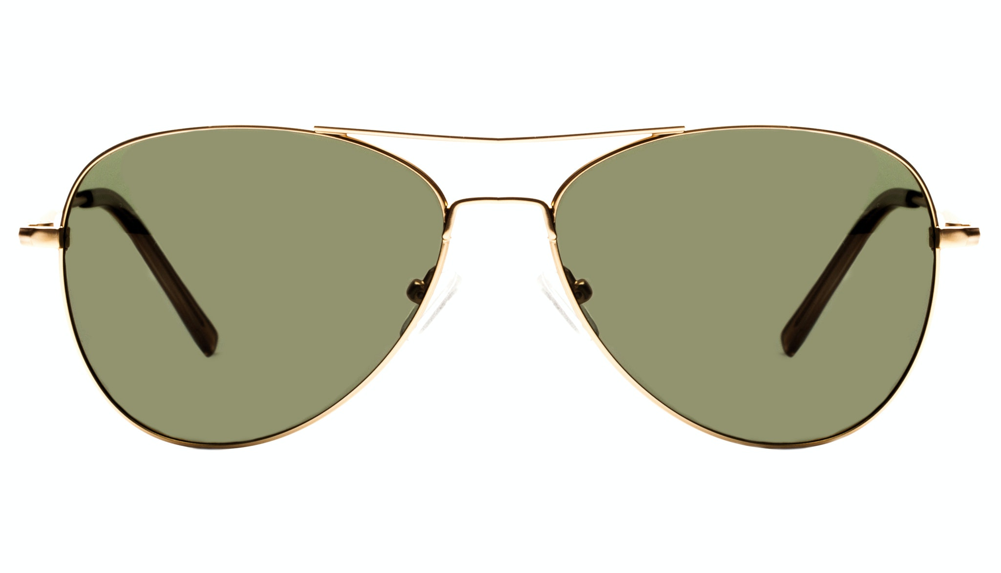 Affordable Fashion Glasses Aviator Sunglasses Men Berlin Gold