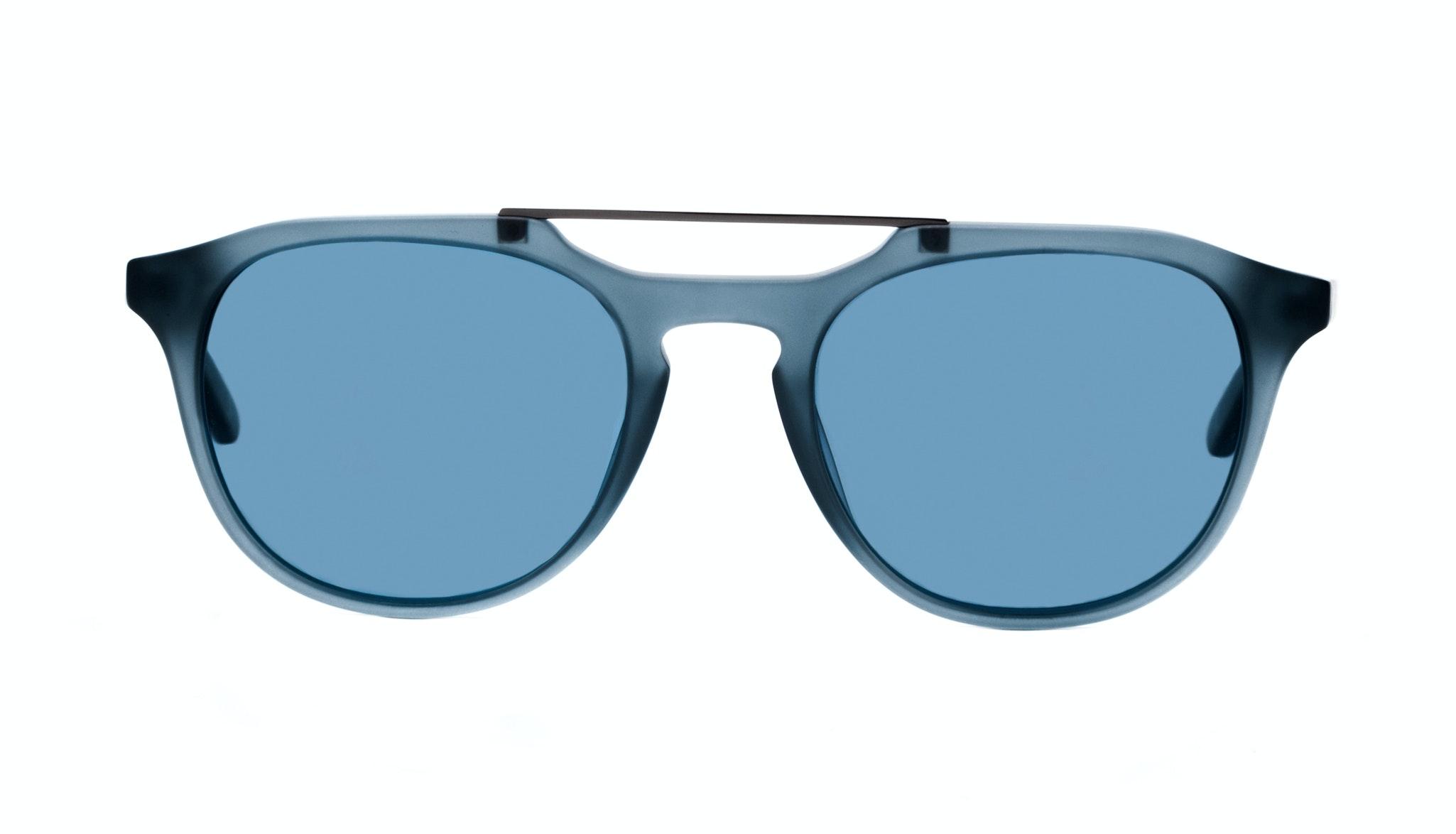 Affordable Fashion Glasses Aviator Rectangle Sunglasses Men Copenhagen Matt Steel