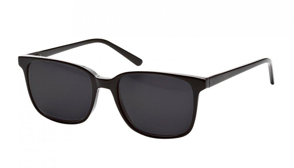 Affordable Fashion Glasses Rectangle Square Sunglasses Women Windsor Black Tilt