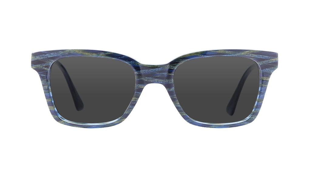 Affordable Fashion Glasses Square Sunglasses Women Jungle Chic Pacific Front