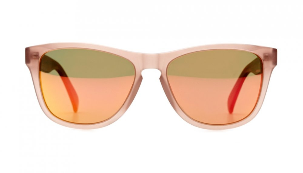 Affordable Fashion Glasses Square Sunglasses Women Venice Beach Frosted Beach Front
