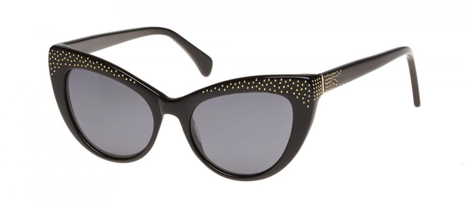 c066308d796 Affordable Fashion Glasses Cat Eye Daring Cateye Sunglasses Women Keiko  Roxy Noir Tilt