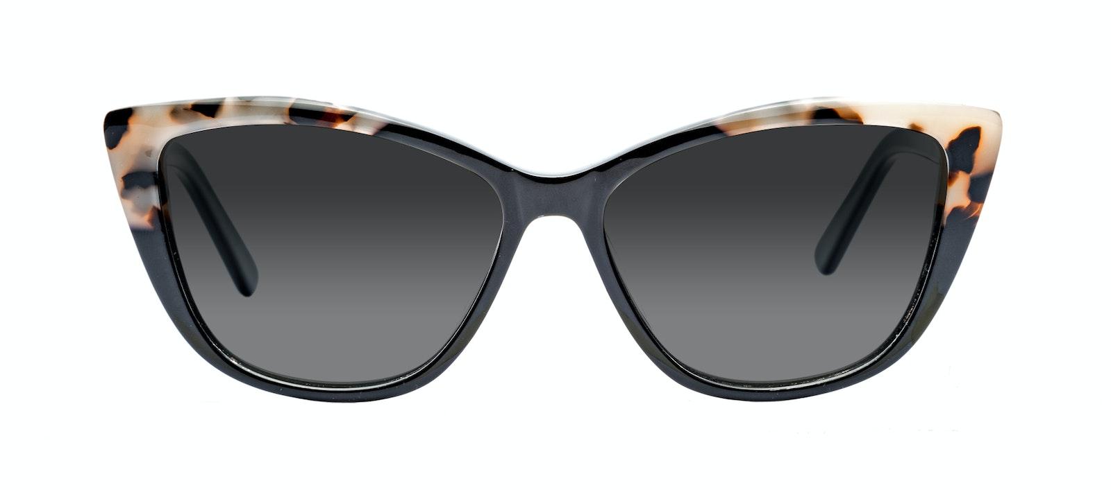 57f2dc10c30a Affordable Fashion Glasses Cat Eye Daring Cateye Sunglasses Women Dolled Up  Ebony Granite Front