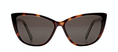 Affordable Fashion Glasses Cat Eye Daring Cateye Sunglasses Women Dolled Up Dreamy Tortoise Front