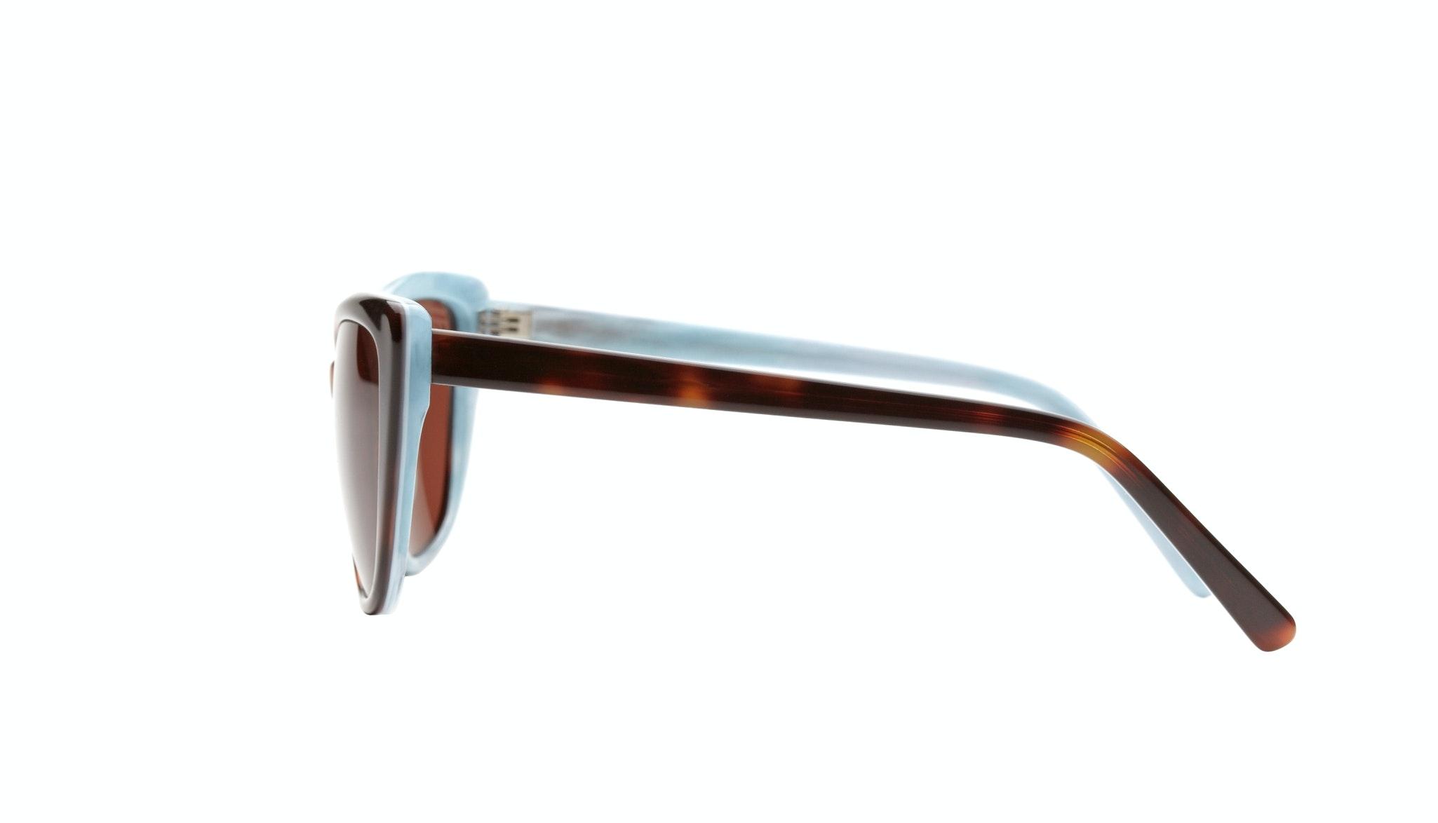 Affordable Fashion Glasses Cat Eye Sunglasses Women Dolled Up Dreamy Tortoise Side