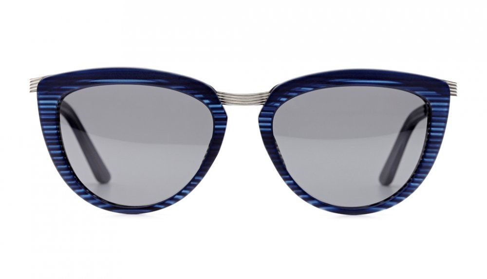 Affordable Fashion Glasses Cat Eye Sunglasses Women Cannes Frosted Nautical Front