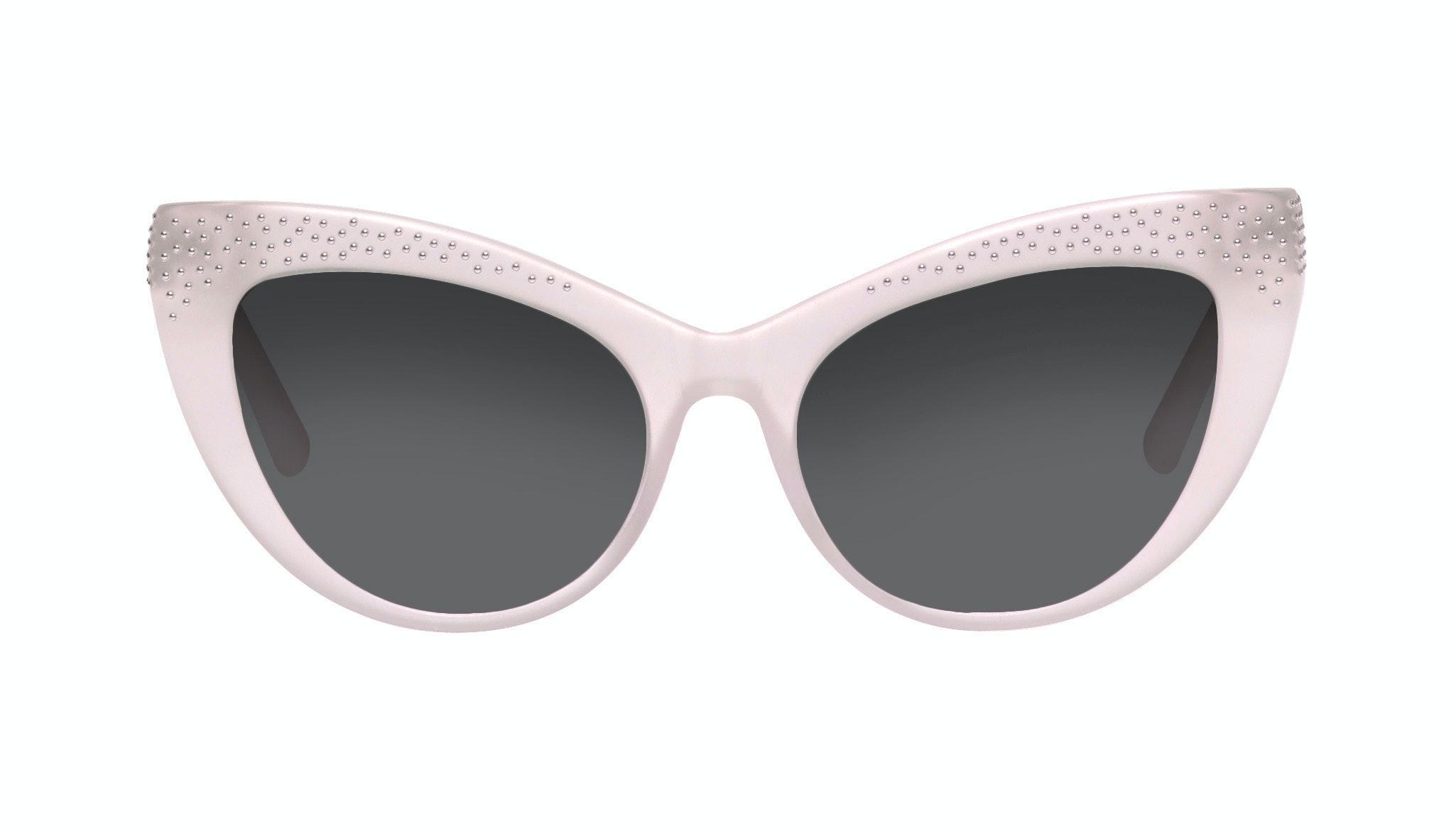Lunettes tendance Oeil de chat Daring Cateye Lunettes de soleil Femmes Keiko Barbie Pink Face