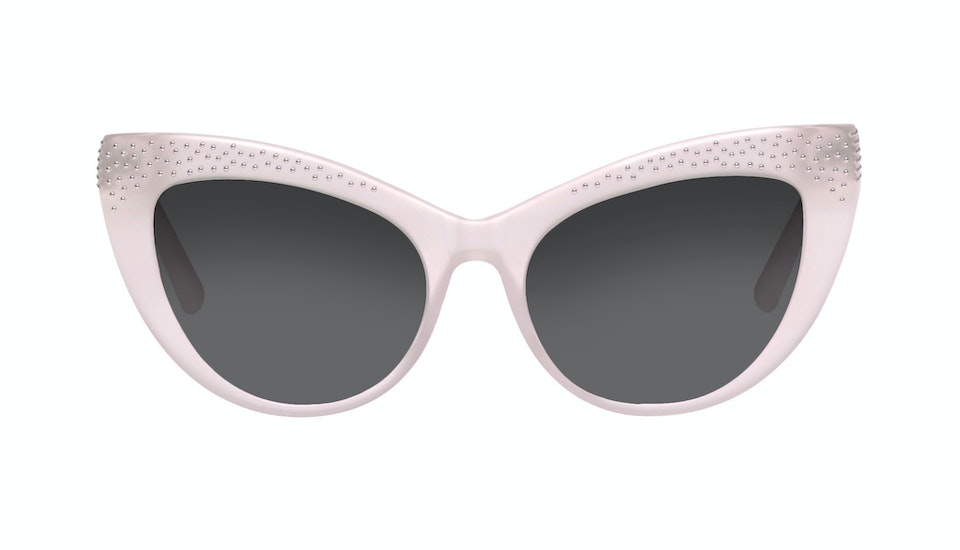 Affordable Fashion Glasses Cat Eye Sunglasses Women Keiko Barbie Pink Front