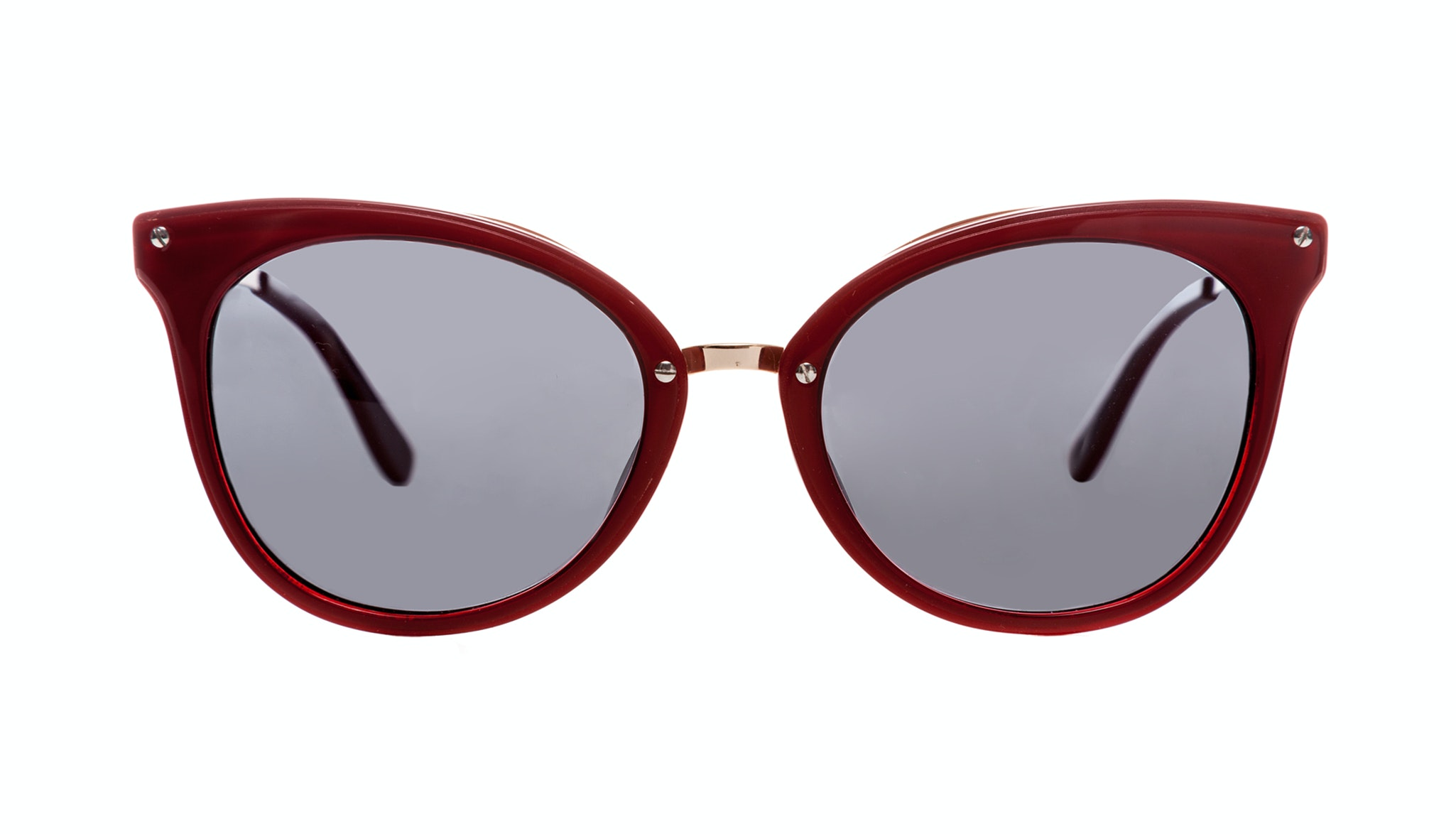 Affordable Fashion Glasses Cat Eye Sunglasses Women BFF French Kiss Front