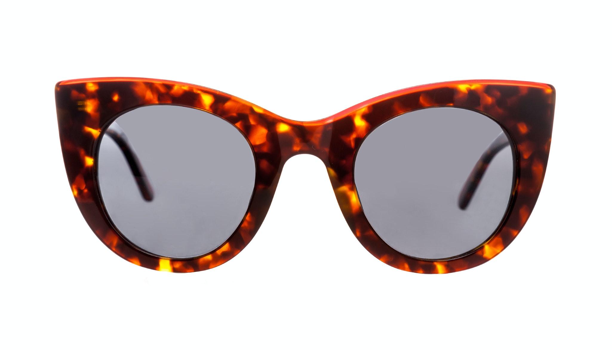 Affordable Fashion Glasses Cat Eye Sunglasses Women Glam Diamond Sepia