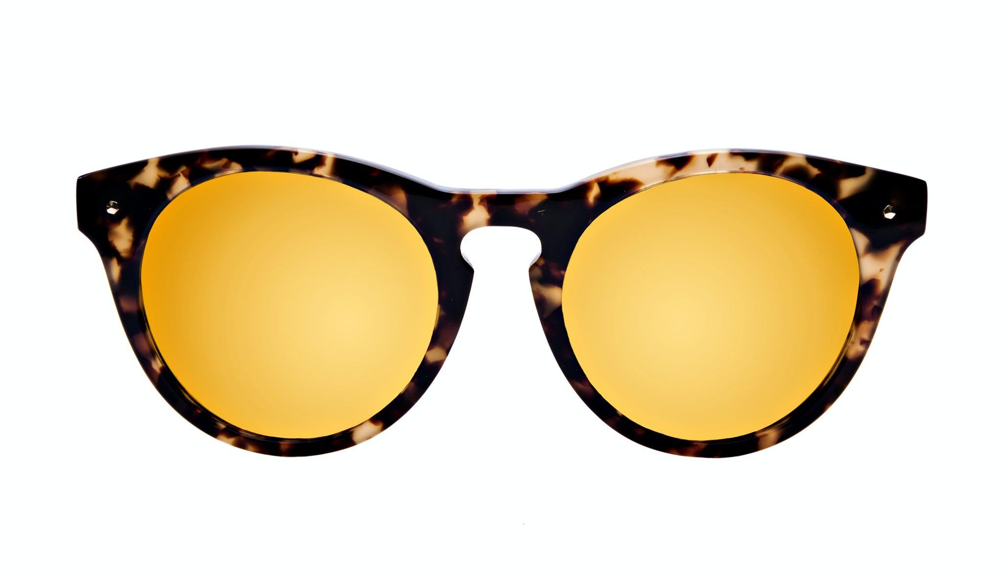 Affordable Fashion Glasses Cat Eye Round Sunglasses Women Nola Bingal Front