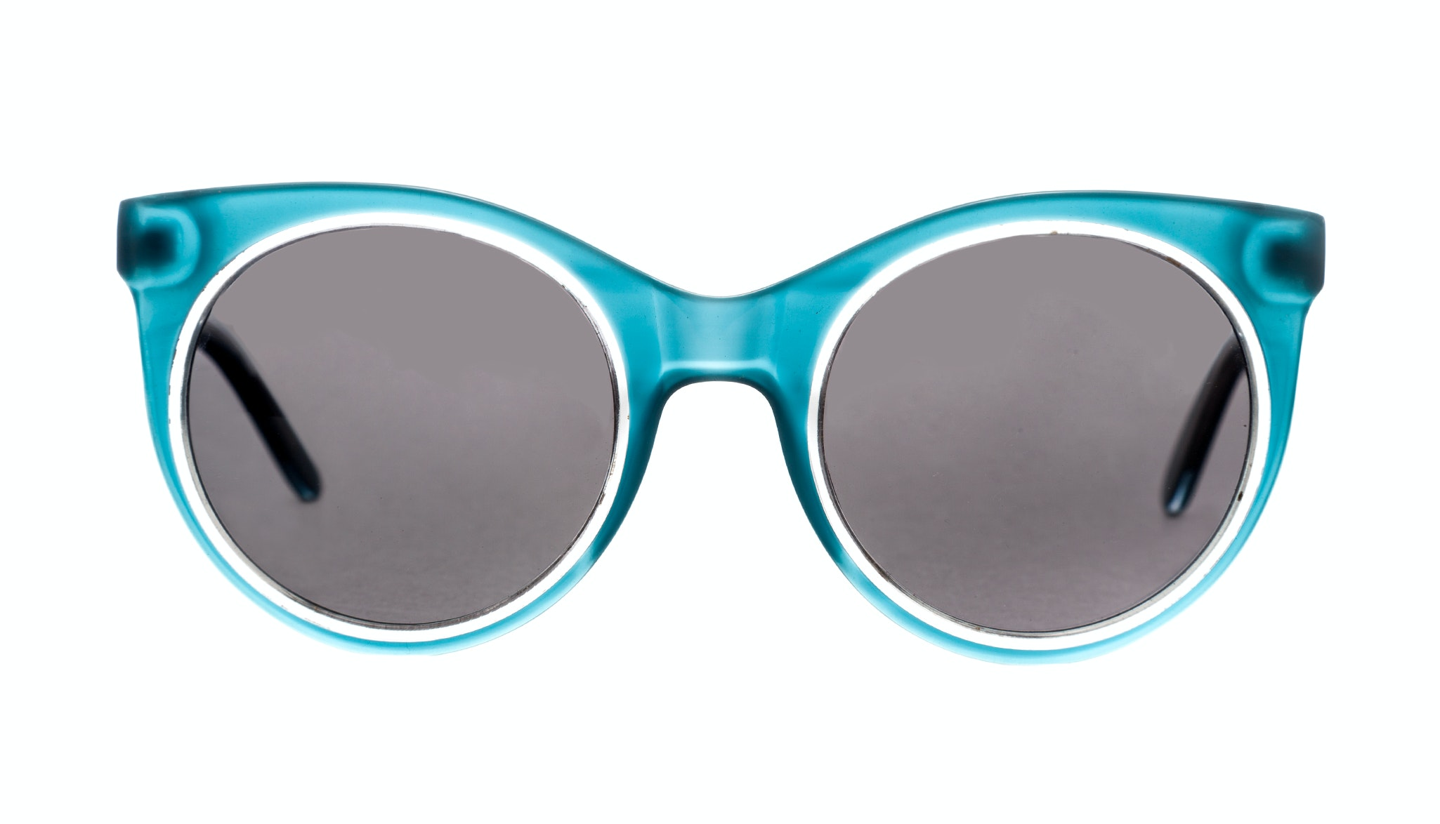 Affordable Fashion Glasses Cat Eye Round Sunglasses Women Pop Iceberg