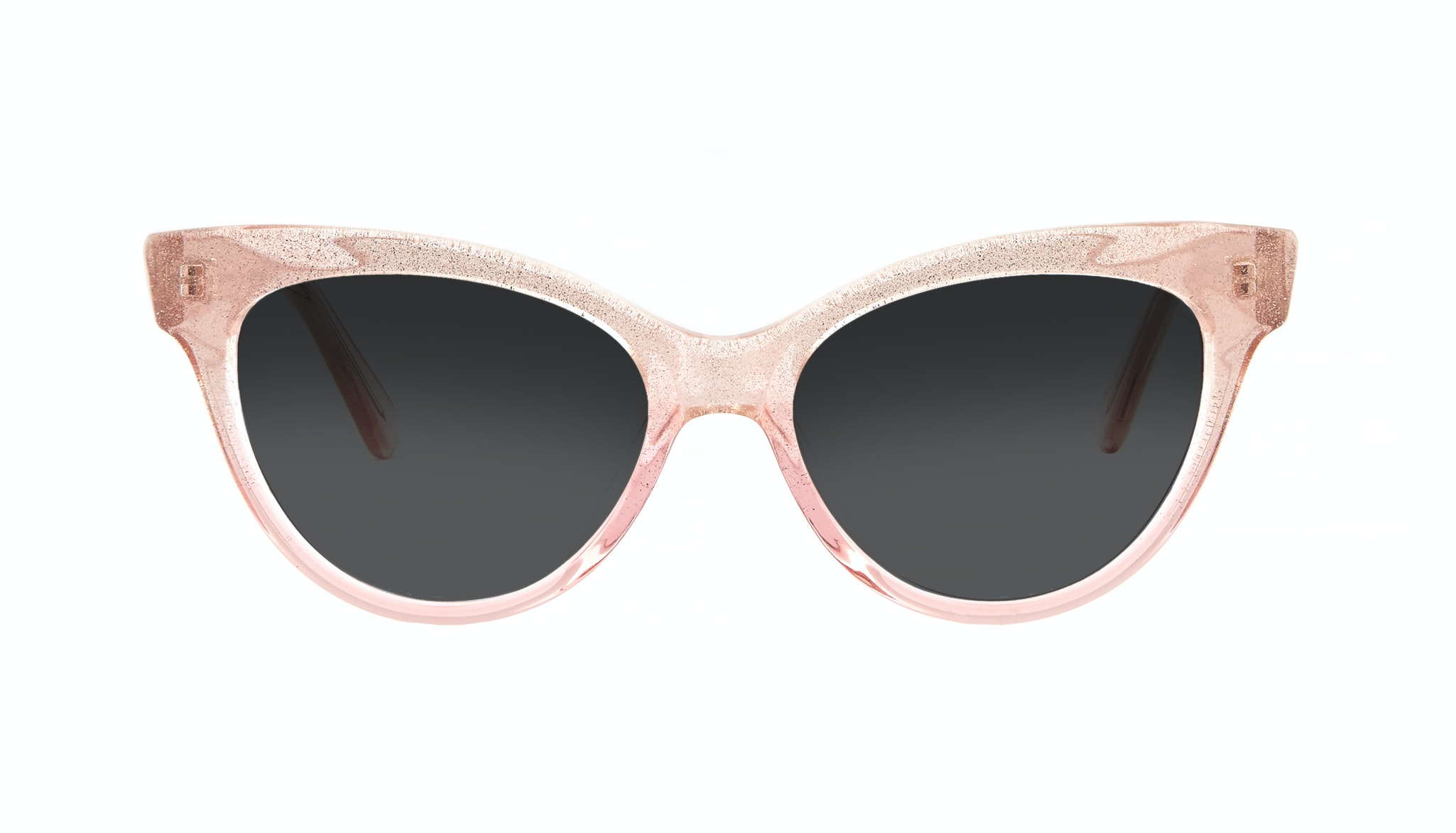 Affordable Fashion Glasses Cat Eye Daring Cateye Sunglasses Women SkunkBoy Poesy Pink Front