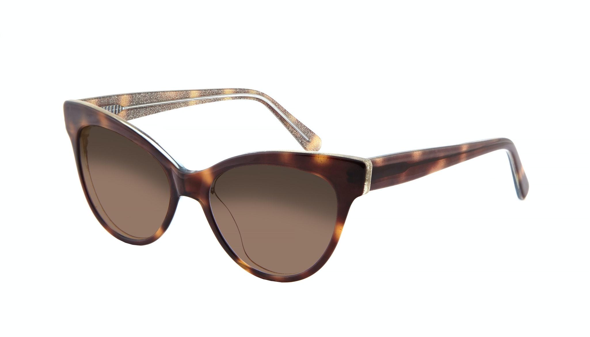 Affordable Fashion Glasses Cat Eye Daring Cateye Sunglasses Women SkunkBoy Twinkle Tort Tilt