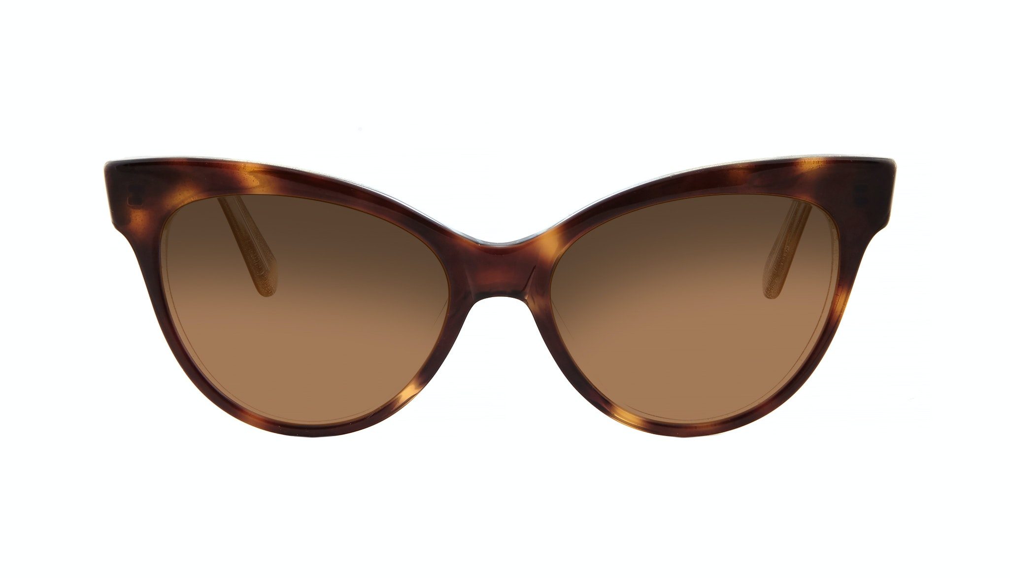 Affordable Fashion Glasses Cat Eye Daring Cateye Sunglasses Women SkunkBoy Twinkle Tort Front
