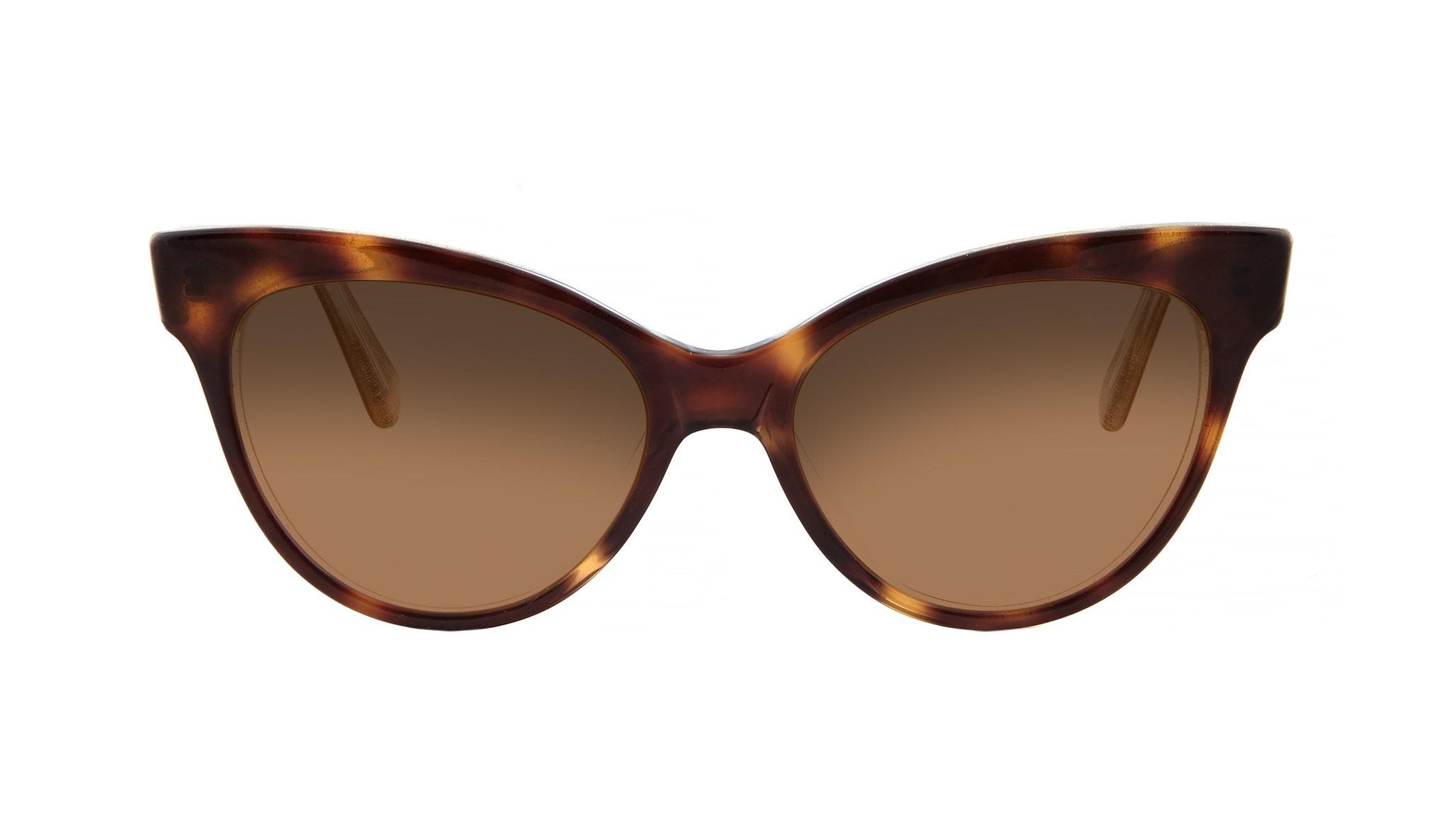 Affordable Fashion Glasses Cat Eye Sunglasses Women SkunkBoy Twinkle Tort