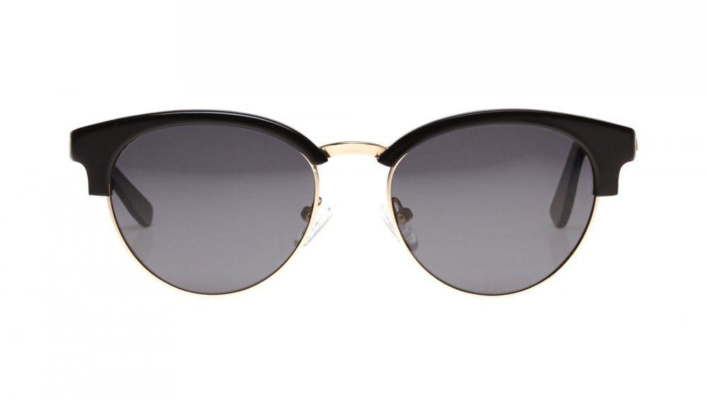 Affordable Fashion Glasses Round Sunglasses Women Allure Black Front