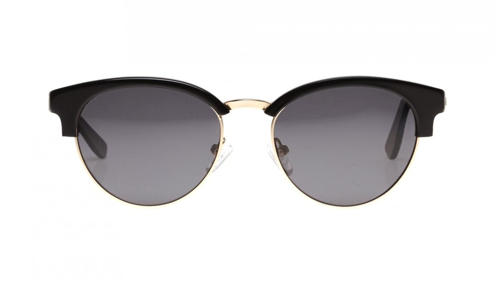 Affordable Fashion Glasses Round Sunglasses Women Allure Black