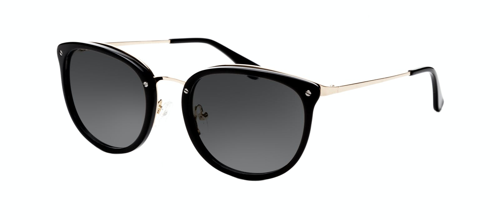 c55d3a9bf0 Affordable Fashion Glasses Square Round Sunglasses Women Amaze Onyx Tilt