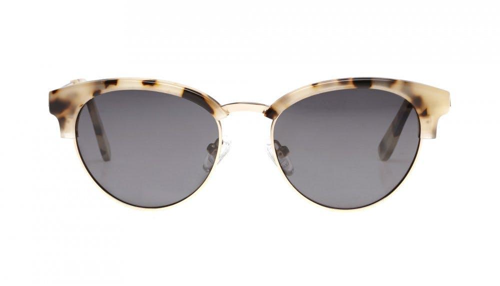 Affordable Fashion Glasses Round Sunglasses Women Allure Granite Front