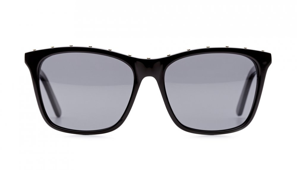 Affordable Fashion Glasses Square Sunglasses Women Kuta Black Front