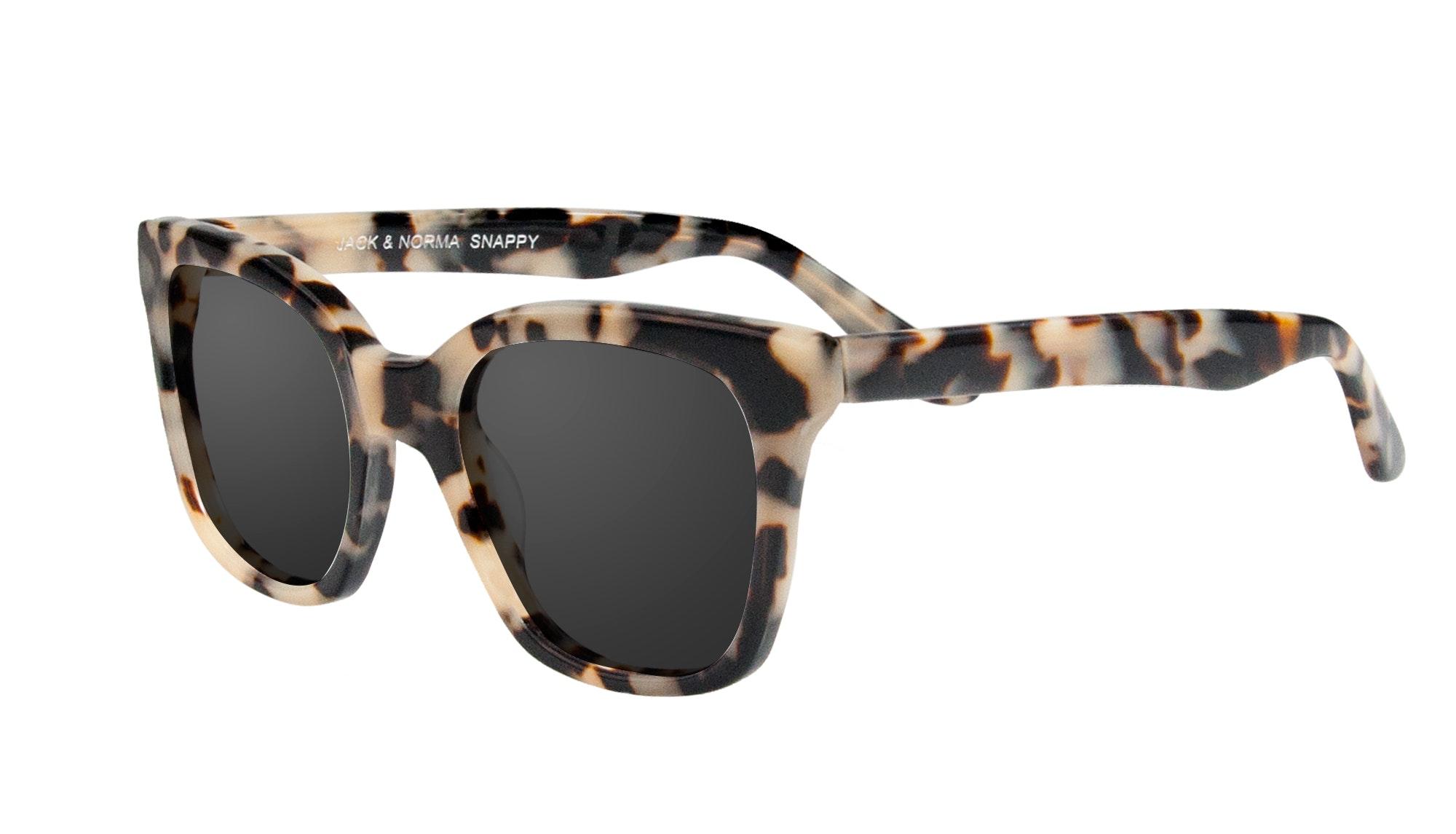 Affordable Fashion Glasses Square Sunglasses Women Jack & Norma Snappy Tilt