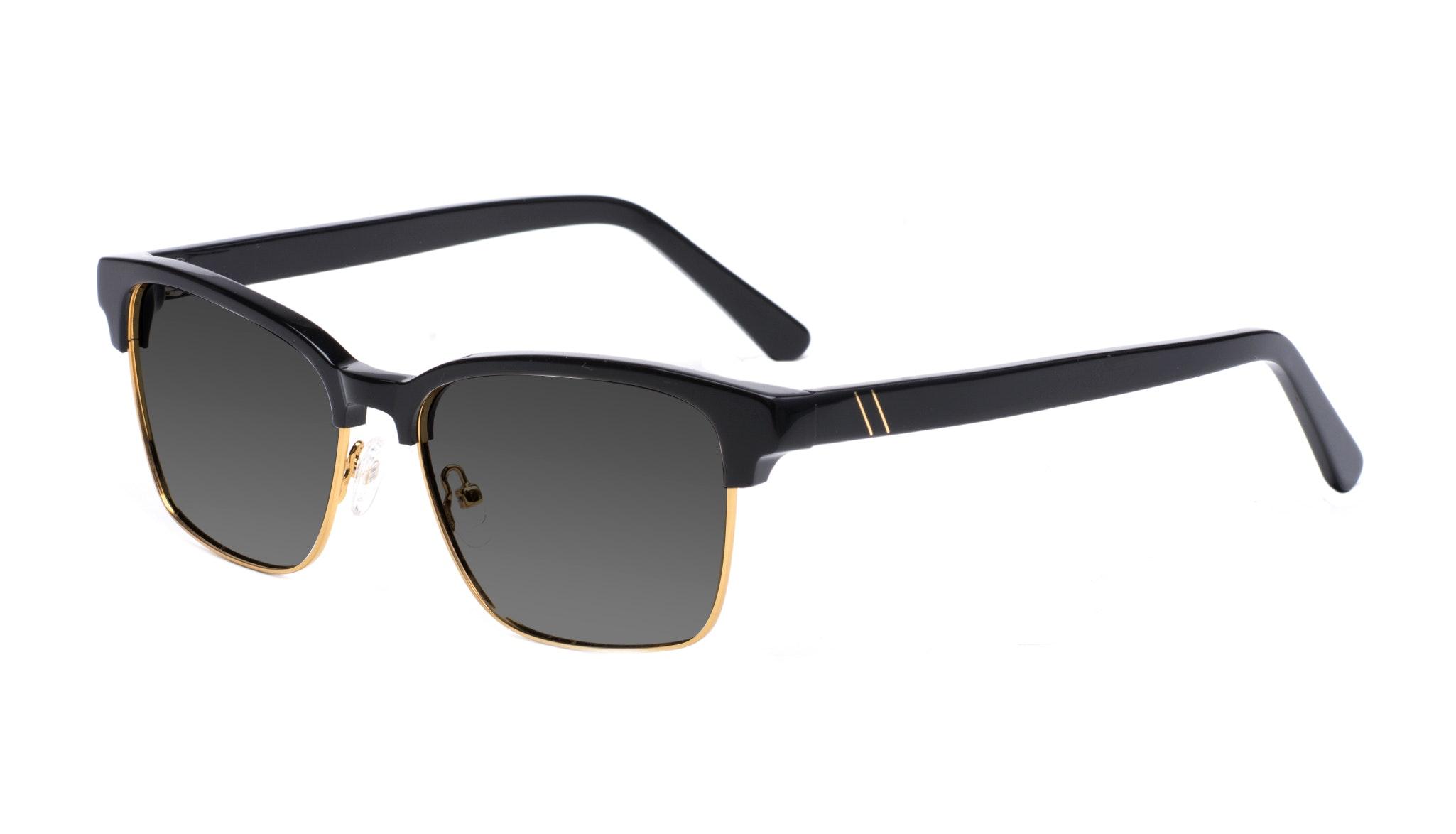 Affordable Fashion Glasses Rectangle Square Sunglasses Men Gallery Black Tilt