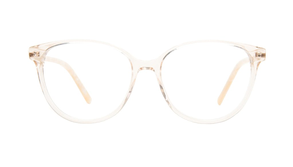 Affordable Fashion Glasses Round Eyeglasses Women Imagine II Golden Marble