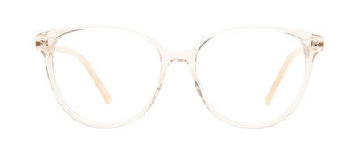 Affordable Fashion Glasses Cat Eye Eyeglasses Women Imagine II Golden Marble Front