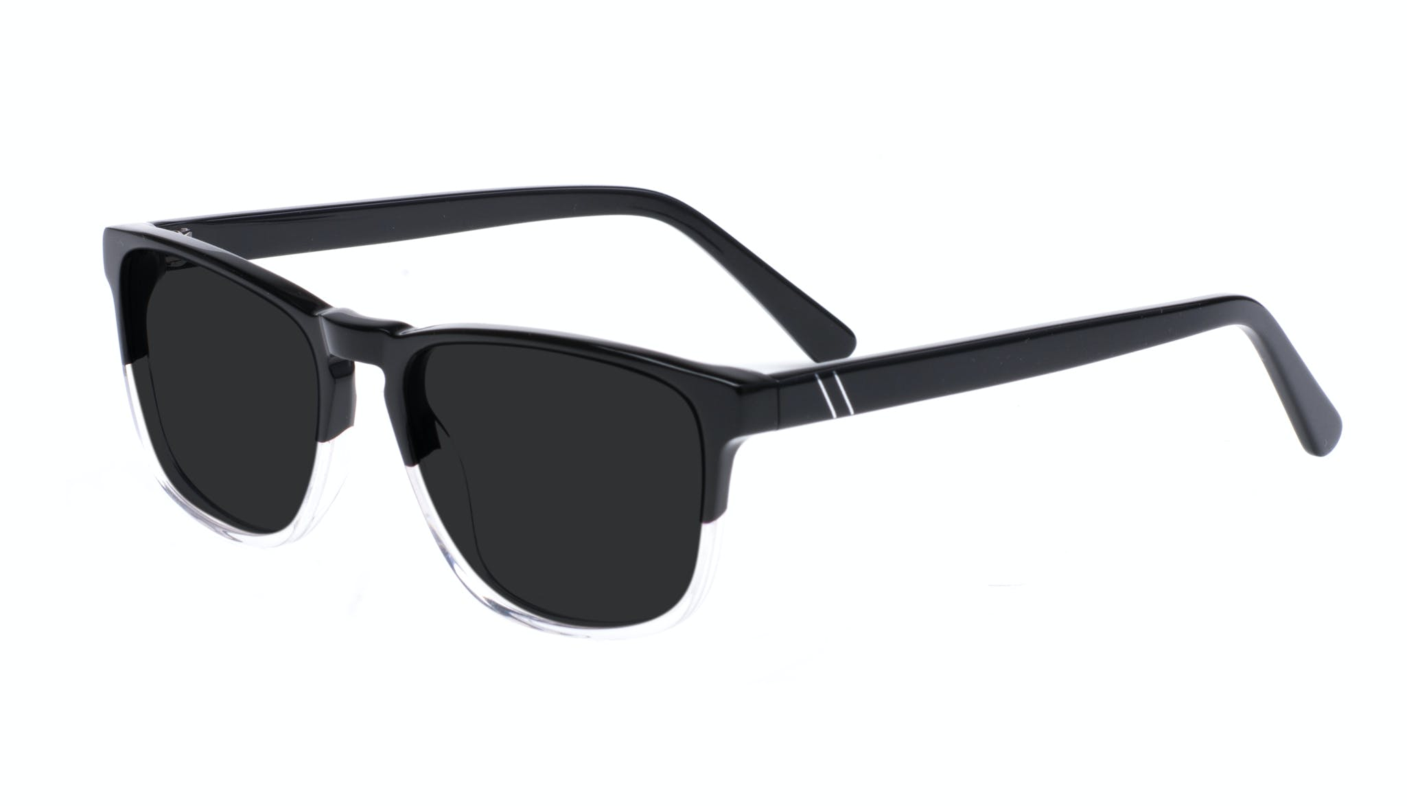 Affordable Fashion Glasses Rectangle Sunglasses Men Loft Black Diamond Tilt