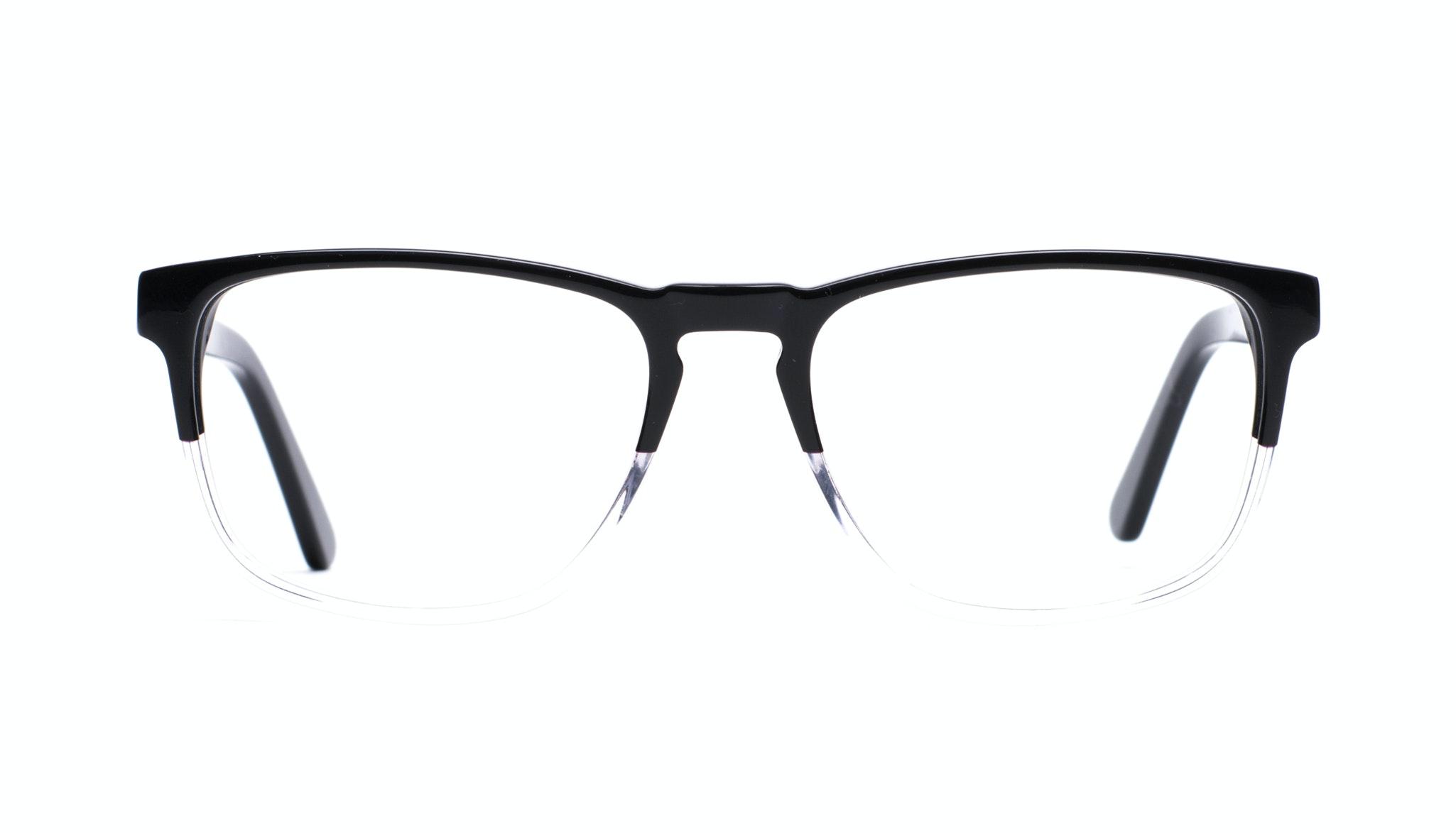 Lunettes tendance Rectangle Optiques Hommes Loft Black Diamond