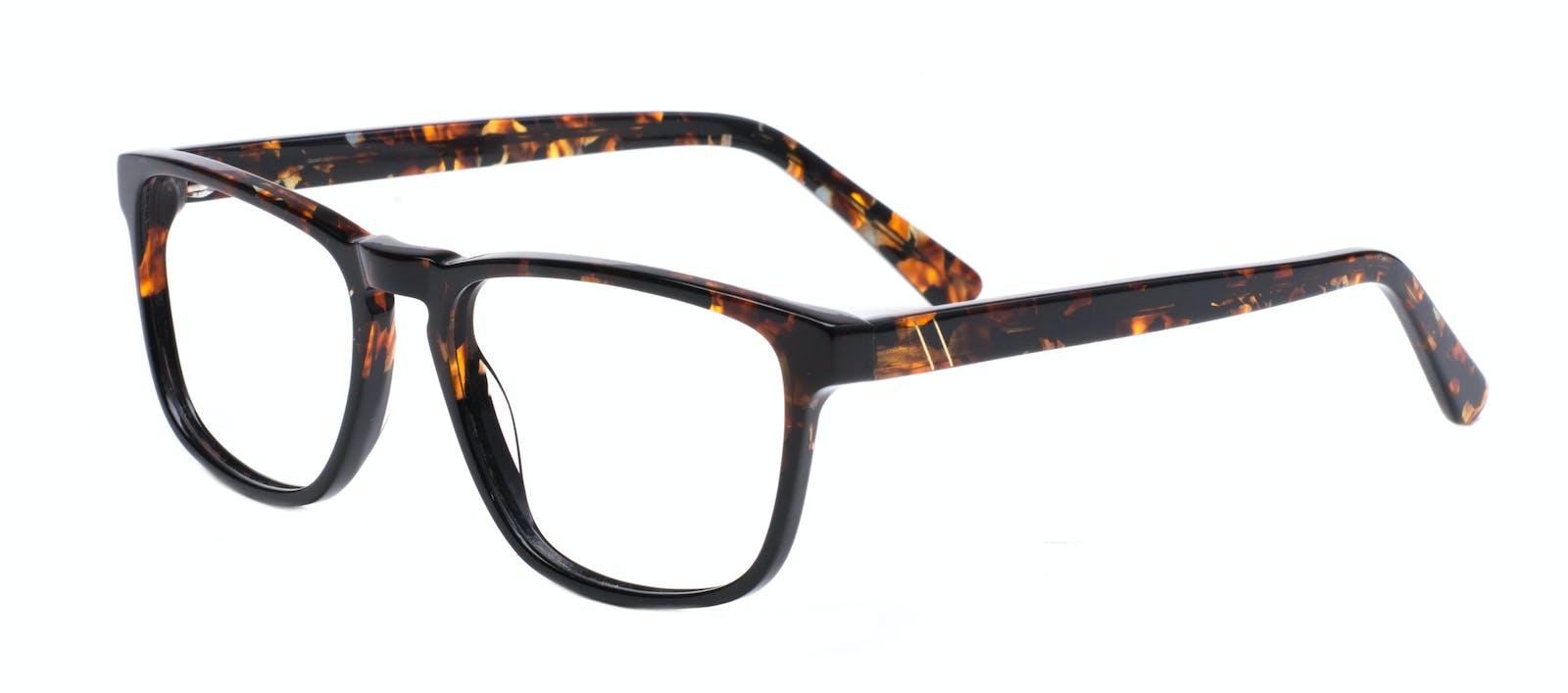 f1b721bc815 Affordable Fashion Glasses Rectangle Eyeglasses Men Loft Mahogany Black Tilt