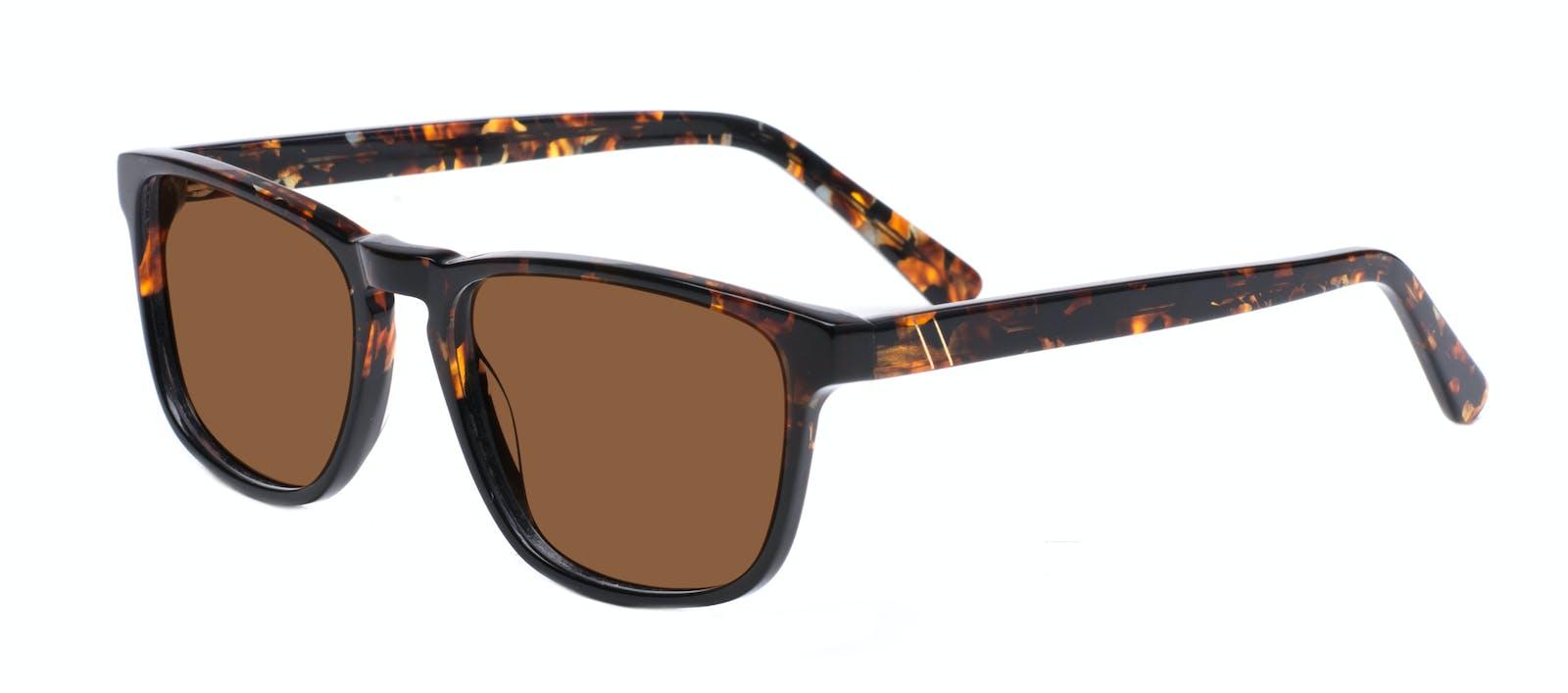 2892ecebb4f Affordable Fashion Glasses Rectangle Sunglasses Men Loft Mahogany Black Tilt